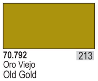 VAL792 Model Color - Old Gold (Metals 35ml)