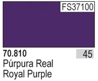 VAL810 Model Color - Royal Purple