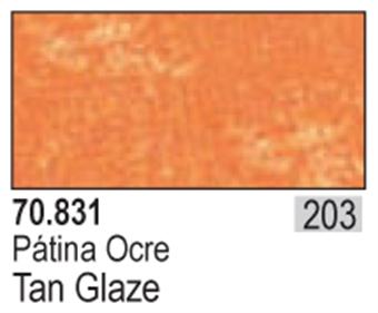 VAL831 Model Color - Tan Glaze