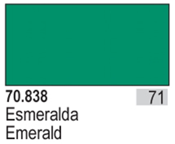 VAL838 Model Color - Emerald