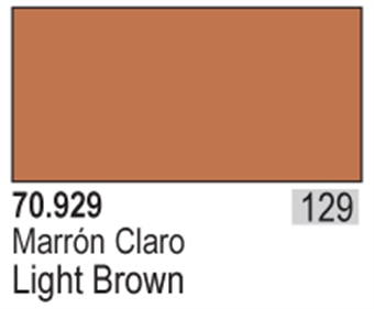 VAL929 Model Color - Light Brown