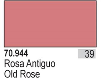 VAL944 Model Color - Old Rose