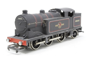 W2216-PO03 Class N2 0-6-2T 69550 in BR Lined Black - Pre-owned - sold as seen - Non-runner - Worn paintwork