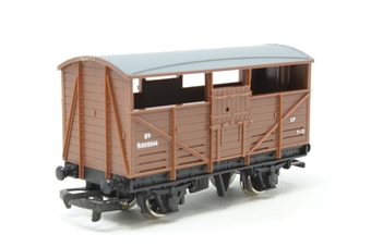 W4630-PO10 8T Cattle Van B893344 in BR bauxite - Pre-owned - Like new - imperfect box