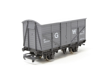 W5058-PO03 GWR Passenger Fruit D Van in GWR Grey - Pre-owned - imperfect box
