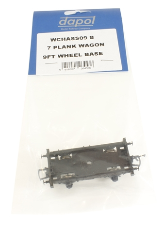 WCHASS09B 9ft wheelbase chassis for 7-plank wagon