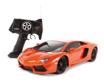 XQRC12-7AA Lamborghini Aventador in orange (remote control)