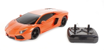 XQRC1816 Lamborghini Aventador in orange (remote control)