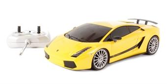 XQRC185YE Lamborghini Gallardo Superleggera in yellow (remote control)