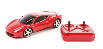 XQRC243AA Ferrari 458 in red (remote control)