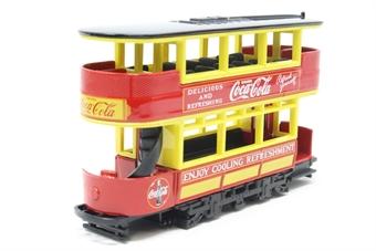 "YYM37797-PO 1920 Preston Tramcar ""Coca Cola"" - Pre-owned - Like new, imperfect box £15"