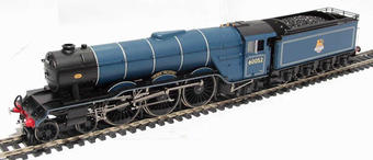 """R1074Loco Class A3 4-6-2 60052 """"Prince Palatine"""" steam loco & tender in BR blue early logo (unboxed)"""