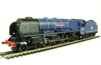 R1094Loco Duchess class 4-6-2 46237 'City Of Bristol' & tender in BR Blue with early emblem (unboxed)