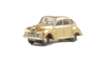 NJJ002 Jowett Javelin in metallic golden sand livery