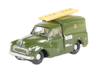 "NMM007 Morris 1000 van in ""Post Office Telephones"" green"