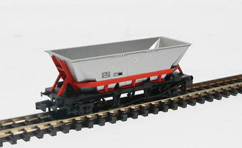 NR-301 HAA MGR coal hopper in BR railfreight livery with red cradle