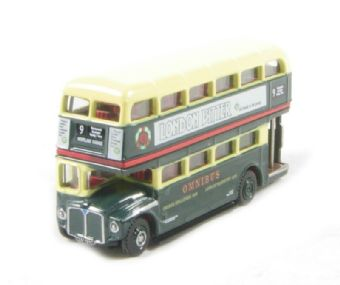 "NRM002 Routemaster d/deck bus in ""Shillibeer CUV 191C"" green livery"