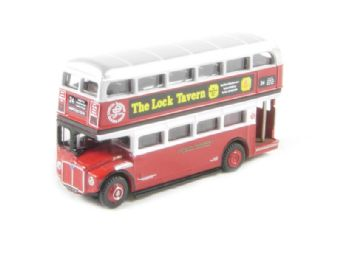"""NRM003 Routemaster d/deck bus in """"London Transport"""" 1933 Golden Jubilee livery"""