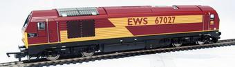 """R2522 Class 67 67027 EWS """"Rising Star"""". Ex-Lima tooling £69"""