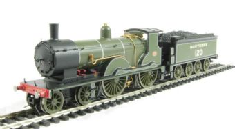 R2690 Class T9 Greyhound 4-4-0 120 in Maunsell SR Green. Special edition as seen at National Railway Museum.