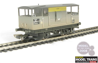 "R6456 Shark ballast brake van in Civil Link ""Dutch"" livery (weathered) £9"