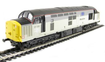 V2056 Class 37/7 37709 in Mainline Freight 2-tone grey