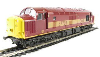 V2057 Class 37/7 37703 in EWS