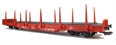 41920 DB Flat Wagon with stakes - 4 axle