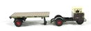 "76MH003 Mechanical horse flatbed trailer ""GWR"""