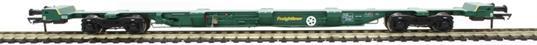 H4-FEAE-002 FEA-E intermodal wagon in Freightliner green