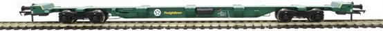 H4-FEAE-003 FEA-E intermodal wagon in Freightliner green