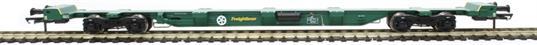H4-FEAE-004 FEA-E intermodal wagon 641041 in Freightliner green