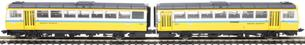 ND116ED Class 142 'Pacer' 2 car DMU 142021 in Tyne and Wear PTE livery - DCC fitted