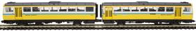 ND116E Class 142 'Pacer' 2 car DMU 142021 in Tyne and Wear PTE livery