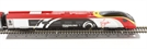 "R1155 Pendolino train set with Class 390 390004 in Virgin Trains livery with ""Alstom Pendolino"" branding"