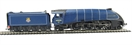 R2906 'Rare Bird' train pack with A4 60024 'Kingfisher' in ex-LNER BR blue and 3 Teak ex-LNER coaches - B J Freeman Collection