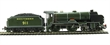 """R3158 Schools Class 4-4-0 """"Dover"""" 911 in SR Green. Railroad range"""