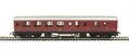 R4389 Stanier Period III brake third 5200 in LMS maroon - Railroad Range