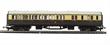 R4524 Collett brake third 5121 in GWR chocolate and cream - Railroad Range