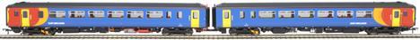 "RT156-119 Class 156 'Super Sprinter' 2-car DMU 156406 in East Midlands Trains livery - ""Nottingham / Worksop"""