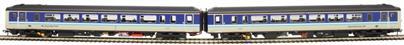 "RT156-313 Class 156 'Super Sprinter' 2-car DMU 156458 in BR Provincial 'Super Sprinter' livery - ""Inverness / Glasgow"""