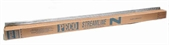 Pack of 25 1 yard (91.5cm) length of Wooden-Sleeper Nickel Silver Flexible track