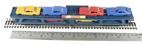 R6423 Freelance bogie car transporter in blue - Railroad Range